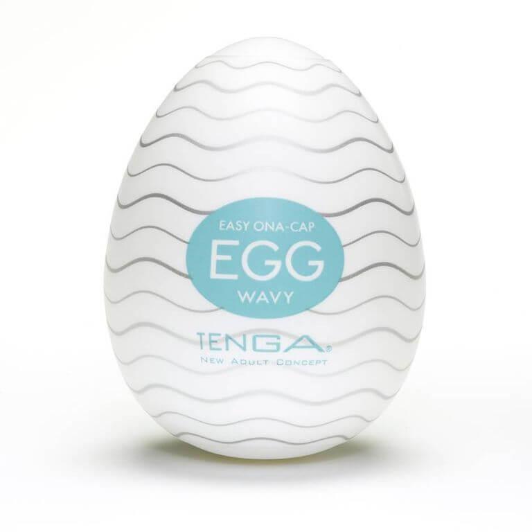 تينغا بيضة الاستمناء الذكور متموجة محكم