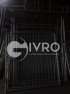 Jual Pintu Pagar BRC - Pabrik Pintu Pagar BRC