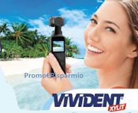 Logo Concorso ''Vivident Xylit 2019'': vinci 11 Micro camera DJI Osmo Pocket