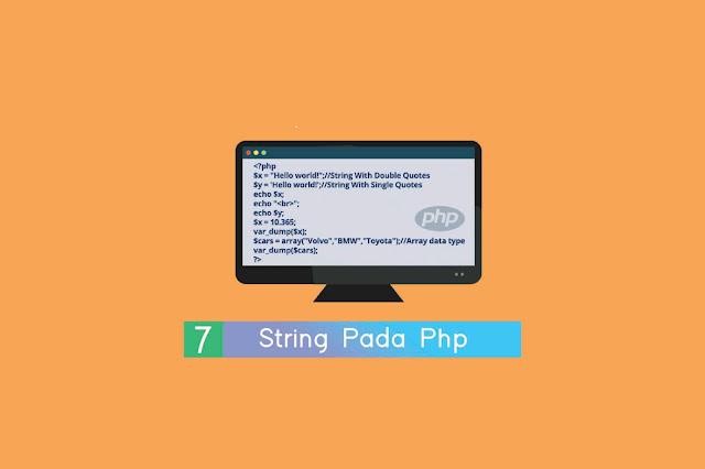 Strіng pada PHP