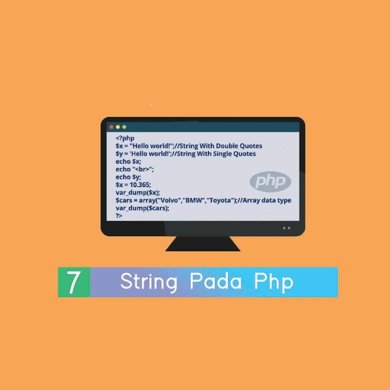 #Belajar PHP Part 7. Strіng Pada Php