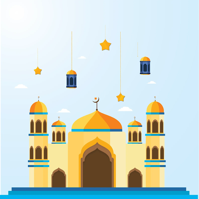 Free File : Kumpulan Vektor Mesjid Keren Coreldraw Dan Illustrator
