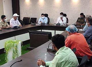 मंत्री श्री कावरे ने की रेमडीसिविर इंजेक्शन की कालाबाजारी पर रासुका की कार्यवाही के निर्देश
