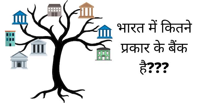 भारत में कितने प्रकार के बैंक है? (Types Of Banks In India)
