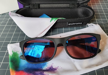 enchroma glasses case cloth and soft bag as come with your glasses