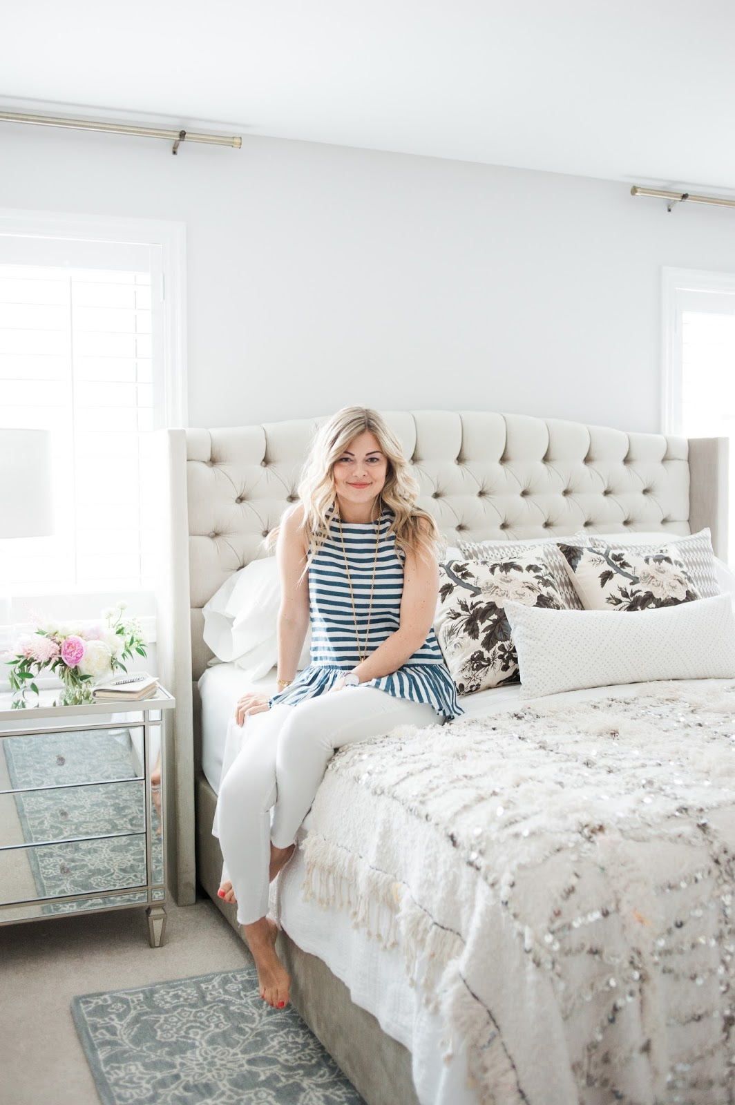 Master Bedroom Reveal Suburban Faux Pas