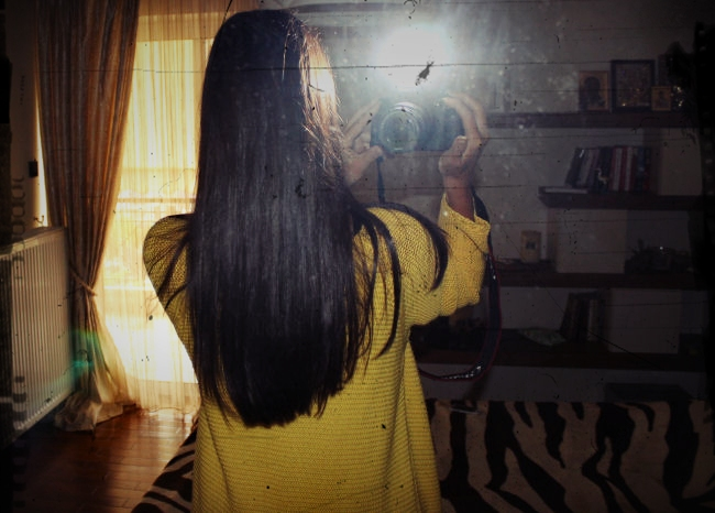duga tamno braon kosa, nijanse za zimu i jesen