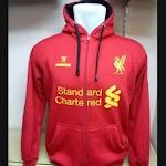 Jual Jaket Hoodie Liverpool Warna Merah Terbaru