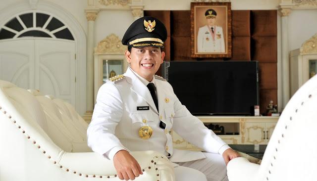 Profile Bupati Cianjur Irvan Rivano Muchtar