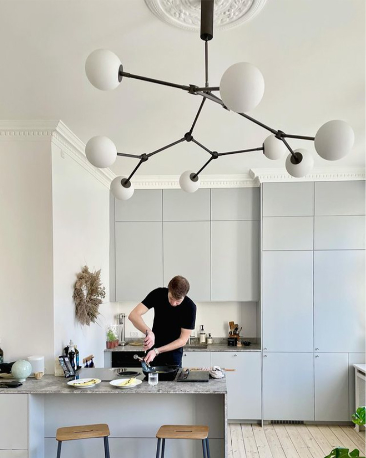 A Danish Artist's Beautiful And Inspiring Copenhagen Home