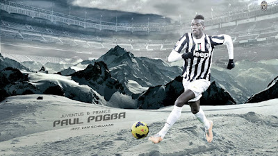 Famous French footballer Paul Pogba hd wallpaper images