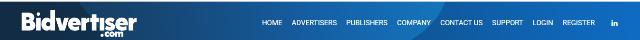 4. BidVertiser: PPC Advertising On Sites Of Your Choice