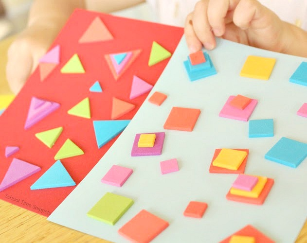 Sorting Shapes for Preschoolers