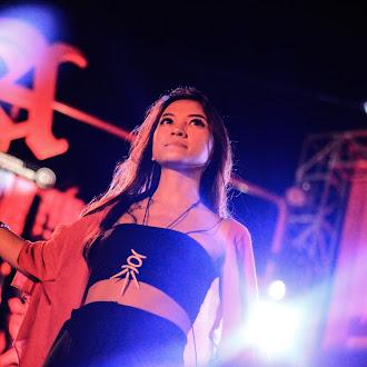"Ichyl ""barasuara"" on stage"