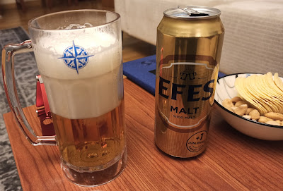 Klasik Efes Malt Bira Değerlendirmesi - Yeni Sarı Kutusunda ve +1 Dinlenmiş Bira