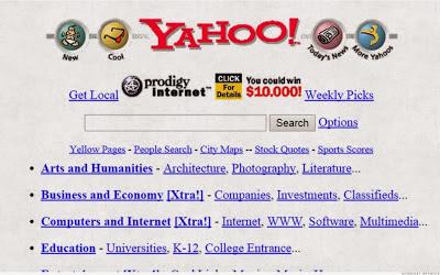 Website Yahoo! Jaman Dulu