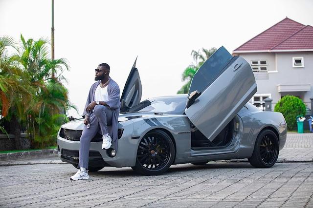 Alexx Ekubo, IK Ogbonna And Yomi Casual Show Off Their Chevrolet Camaro (Photos)