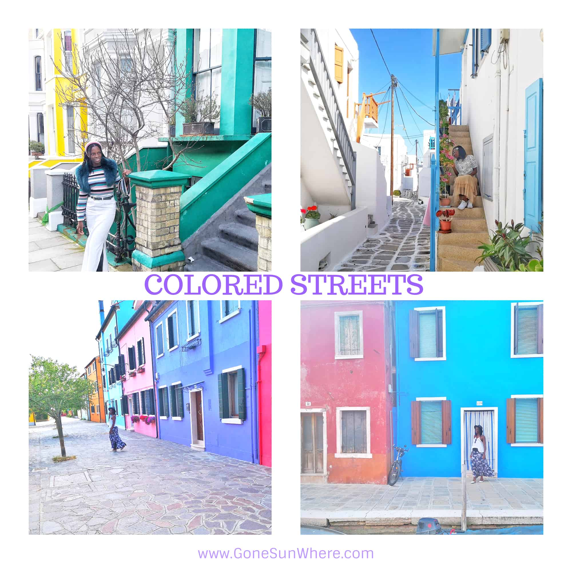 Colored Street Photos