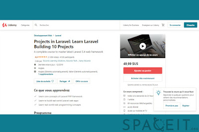 [Free Course]Projects in Laravel: Learn Laravel Building 10 Projects Description ~ Google Driver Link 2020