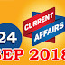 Kerala PSC Daily Malayalam Current Affairs 24 Sep 2018