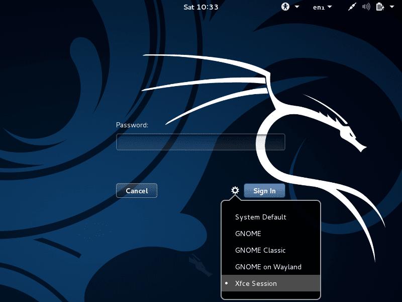 تسجيل الدخول التلقائي في الكالي لينكس | Auto login root