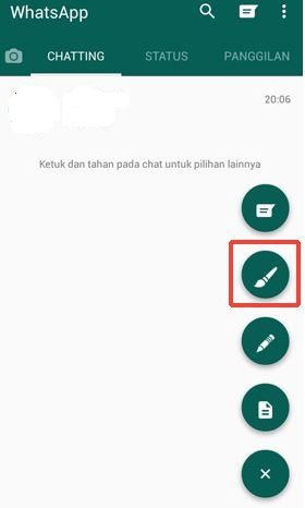 cara ganti warna whatsapp