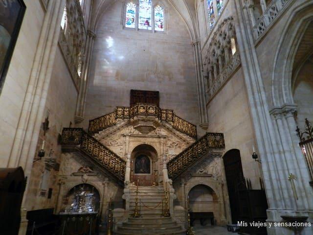 La escalera dorada, catedral de Burgos