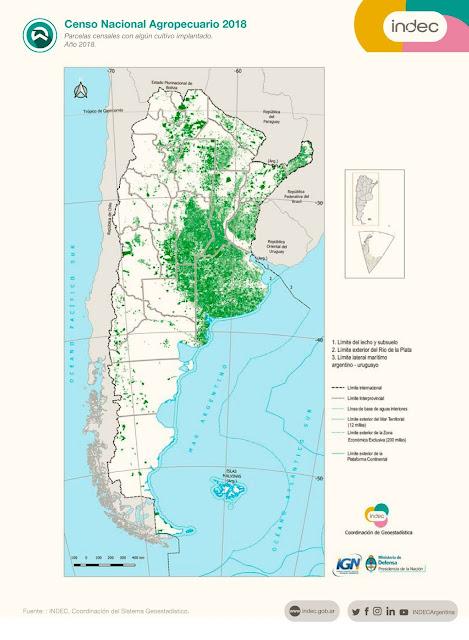 """Censo Nacional Agropecuario 2018: Resumen informático y tecnológico """"El futuro desde las raíces"""" #CNA2018 @INDECArgentina"""