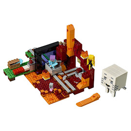 Minecraft The Nether Portal Lego Set