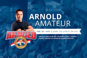 Confira os resultados do Arnold Amateur 2019