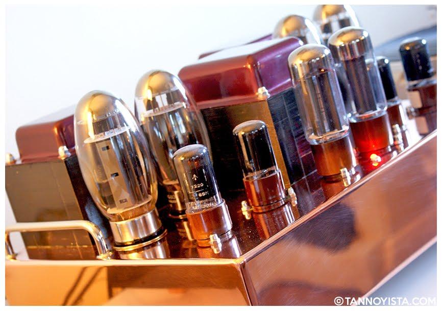 The Tube Distinctions Copper Amplifier - KT-150s - Tannoyista.com