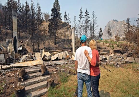 Após extensos incêndios florestais, a ADRA Canadá intervém para apoiar as comunidades em sofrimento.