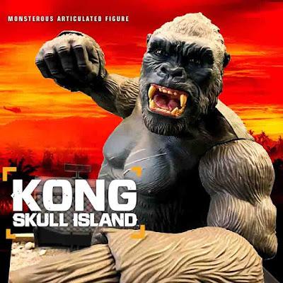 """osw.zone Hinter den Kulissen - """"KONG: SKULL ISLAND Spielzeug"""" die Herstellung von Video und Bildern"""