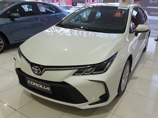 Novo Corolla GLi 2020: fotos, detalhes, preços e detalhes