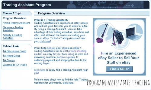 The eBay Trading Assistants Program