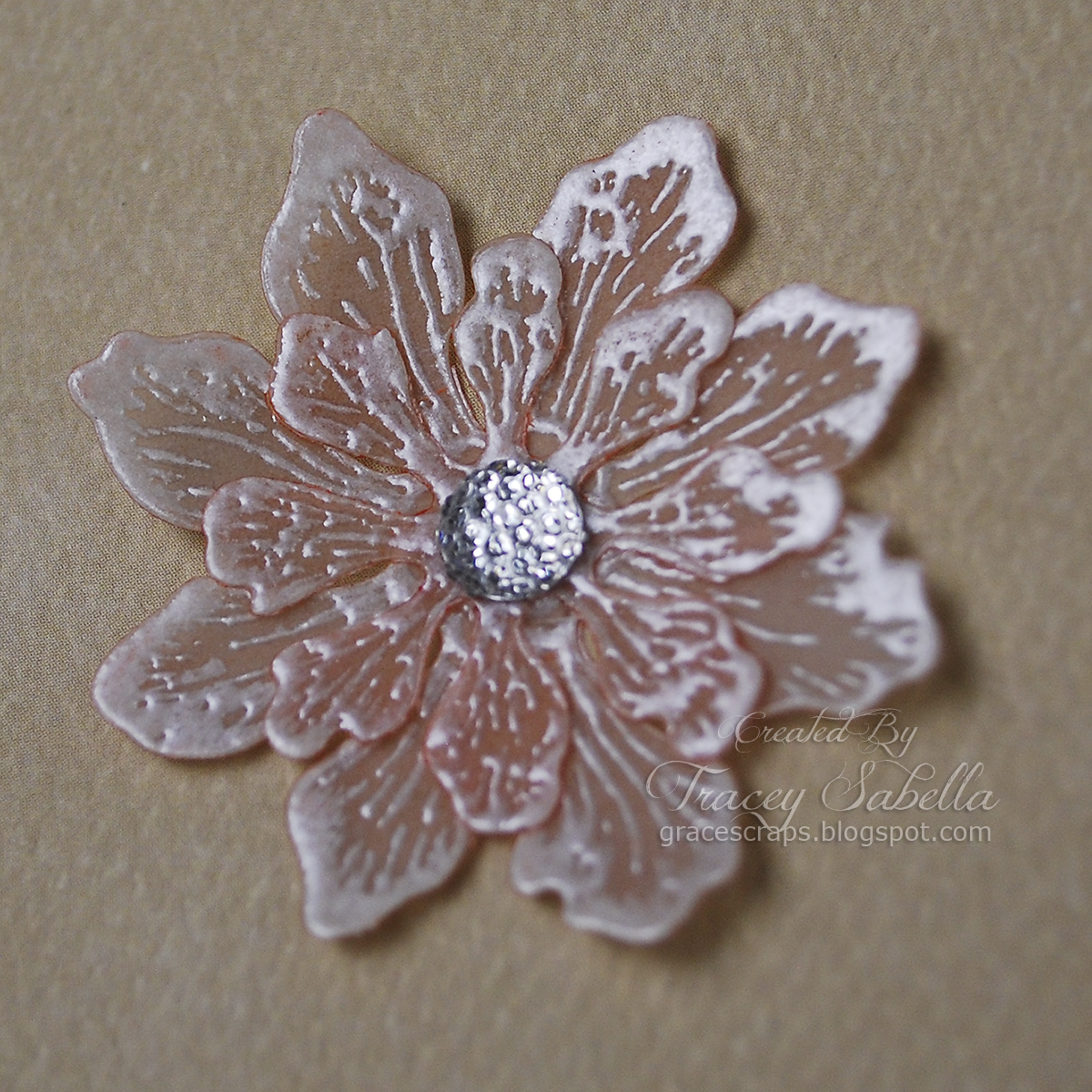 Garden of grace embossed vellum flower tutorial and first dance garden of grace embossed vellum flower tutorial and first dance details for scrapthat mightylinksfo