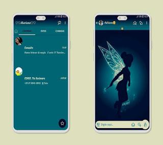 Tinkal Girls Theme For YOWhatsApp & Fouad WhatsApp By Mary Silva
