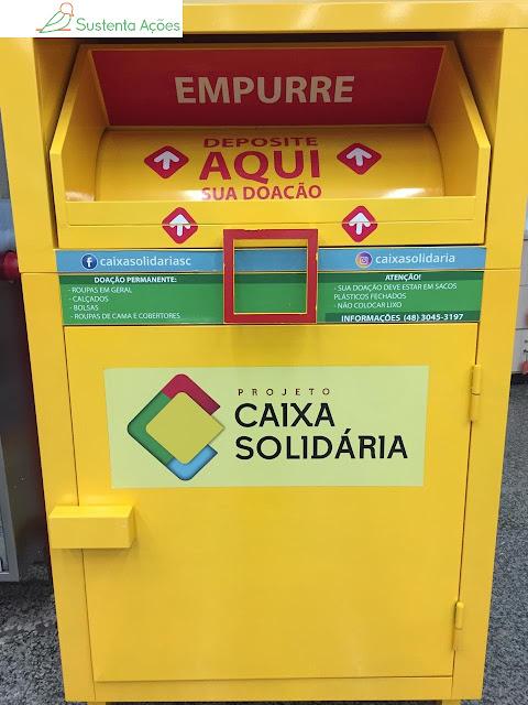 Caixa Solidária no Giassi