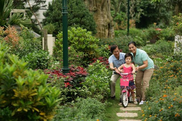 Khuôn viên cây xanh thuộc dự án Gemek Premium