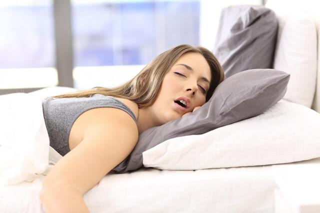 Uyurken salya akması nasıl önlenir