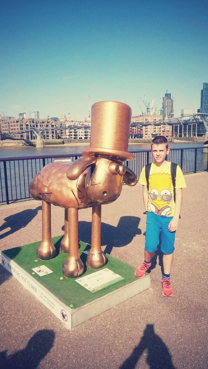 Shaun The Sheep Spotting In London, How Fun!?