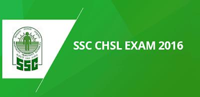 SSC CHSL Exam 2016