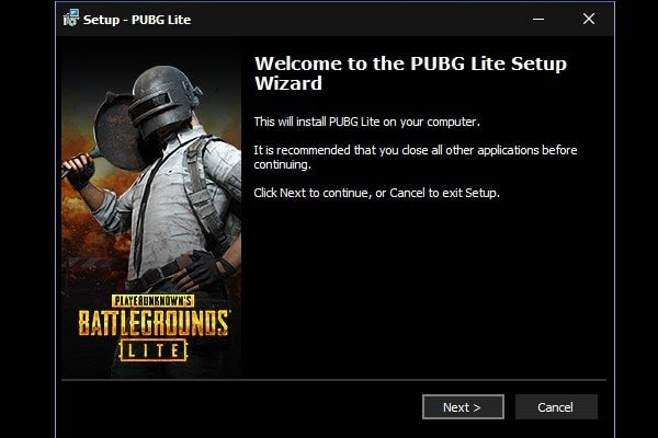تسجيل دخول لعبة ببجي من الكمبيوتر