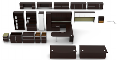 Cherryman Verde Office Furniture