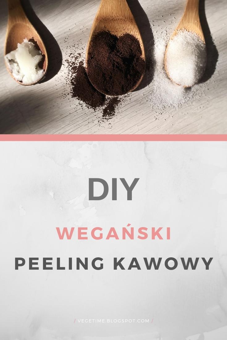 DIY Wegański peeling cukrowo-kawowy - 3 składniki