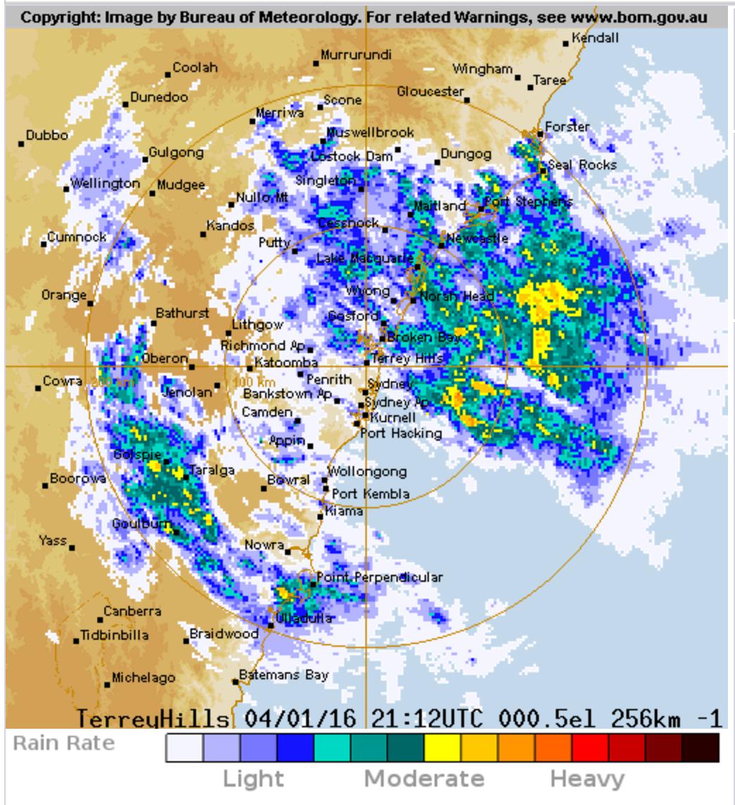 The Cabbages of Doom: Hooray for rain radar!