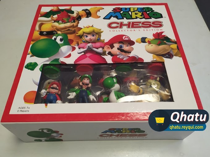 "(Bs. 250) Ajedrez Mario Bros: ""SUPER MARIO CHESS Collector's Edition"" (Marca Nintendo)"