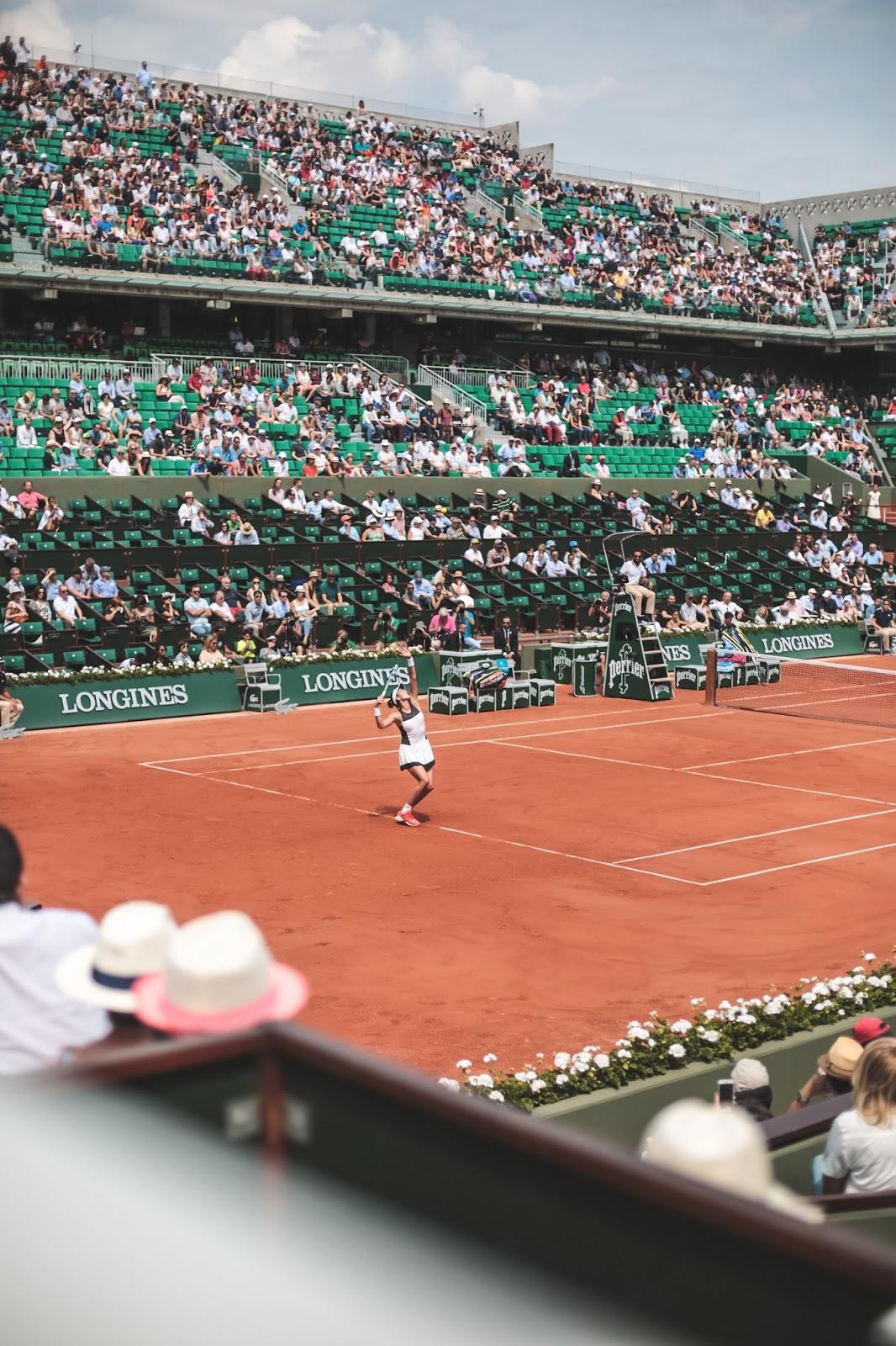 Muguruza vs. Putintseva Roland Garros 2017