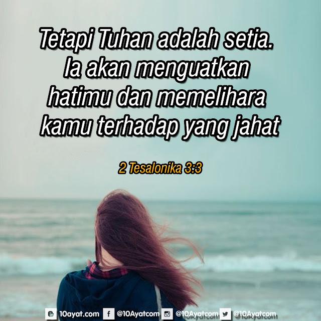 2 Tesalonika 3:3