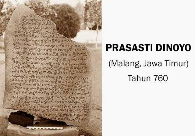 Gambar Prasasti Dinoyo Malang Jawa Timur